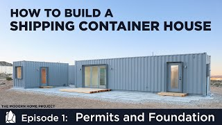 Video Building a Shipping Container Home | EP01Permits and Foundation Design MP3, 3GP, MP4, WEBM, AVI, FLV Juli 2019