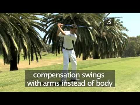 Videojug - Golf: Common mistakes at set-up - VideoJug golfing expert Rickard Strongert explain reasons why you swing could be erratic in your golf game and shows some o...