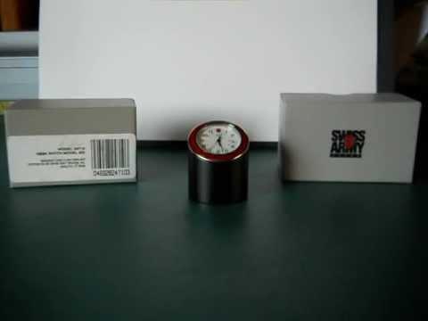 Victorinox Swiss Army Desk Clock Watch