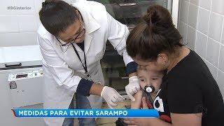 Bauru registra nove casos de sarampo e intensifica medidas de prevenção