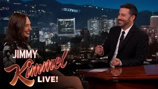 Video Gal Gadot Asks Jimmy Kimmel About Her Breasts MP3, 3GP, MP4, WEBM, AVI, FLV Juli 2018