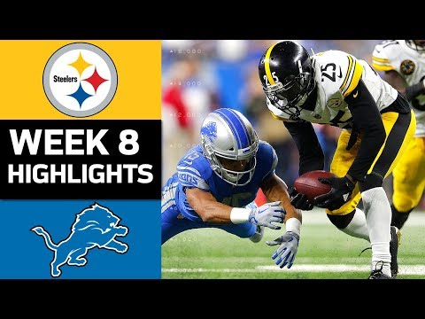 Steelers vs. Lions | NFL Week 8 Game Highlights - Thời lượng: 9:16.