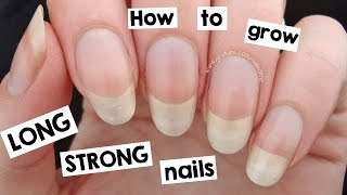 Video How to Grow Your Nails LONG & STRONG! MP3, 3GP, MP4, WEBM, AVI, FLV Oktober 2018
