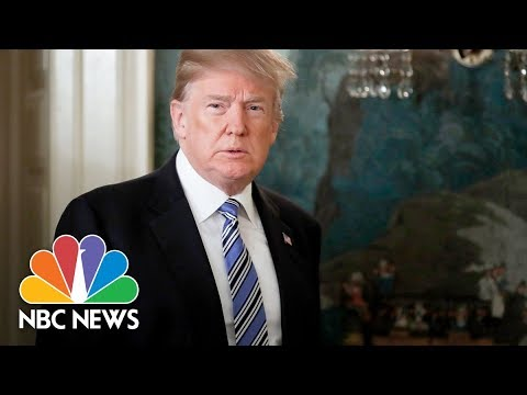 President Donald Trump Meets With Parents Affected By Gun Violence | NBC News (видео)