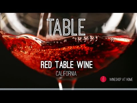 Wine Pick of the Week: Table Red Wine