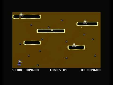 Commodore 16/Plus4 - Commando - Longplay