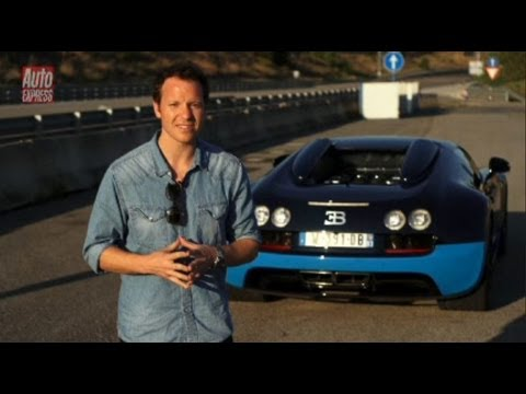Bugatti Veyron Vitesse video – Auto Express