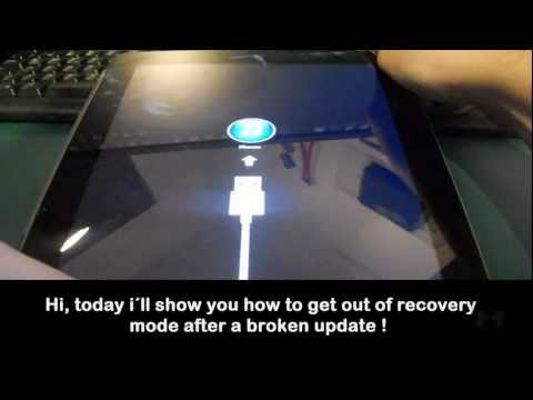 How to Fix iPhone Ipad Stuck in Recovery mode loop after update [HD]