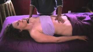 Body Massage Therapy Full Demonstration 8 Tummy&Belly Technique
