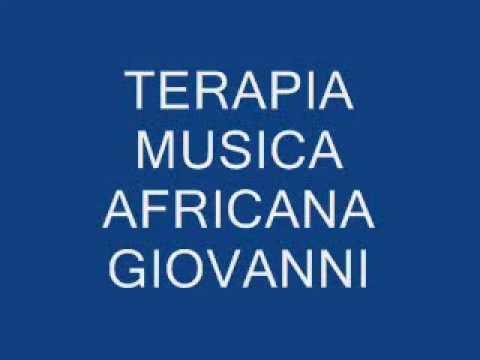 TERAPIA MUSICA AFRICANA GIOVANNI