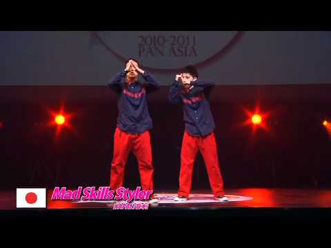 【GDC 3rd】GATSBY DANCE COMPETITION 2010-2011:ASIA GRANDFINAL/Mad Skills Styler【JAPAN】