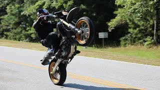 8. Tips to wheelie the DR-Z400SM for beginners