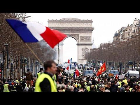 Frankreich: Gelbwesten in Woche 16 mit etwas geringer ...