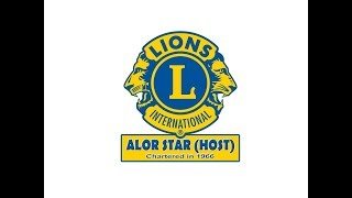Video Edited By: Lions Club of Alor Star (Host) Music: (1) Theme song for District Governor Jennifer Kim's Fiscal Year 2016-2017...