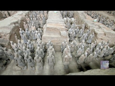 Episode 4 of Bird's-eye China: Shaanxi, China's ancient heart