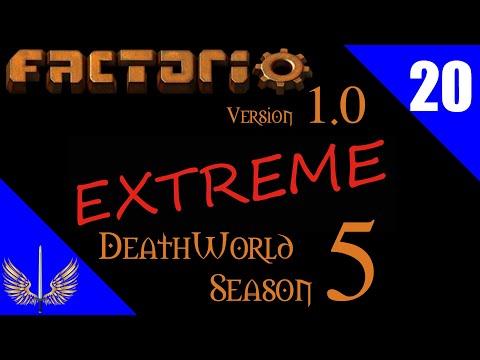 Factorio 1.0 - Deathworld Extreme Season 5 - Episode 20