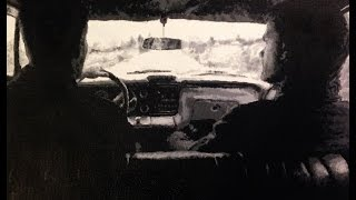 Supernatural Impala Backseat Time-lapse Speedpainting