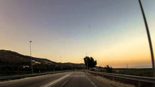 Bari to Gargano Timelapse Car Ride