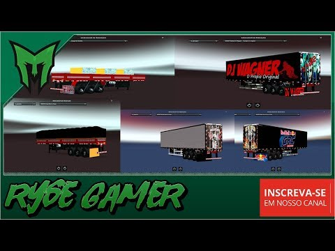 Pack Trailers Events Logholding Pack with Several Trailers