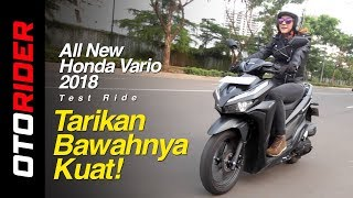 Video All New Honda Vario 150 2018 Test Ride Indonesia | OtoRider MP3, 3GP, MP4, WEBM, AVI, FLV Juni 2019