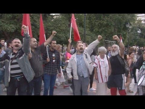Συγκέντρωση αλληλεγγύης στον κουρδικό και τουρκικό λαό στο Σύνταγμα