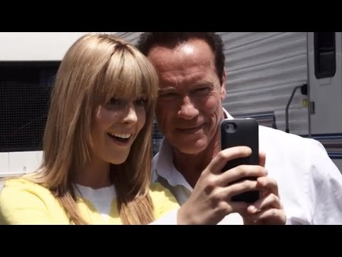 Arnold Schwarzenegger -- Comedy Week -- Behind the Scenes