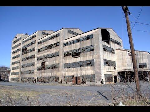 urban exploration - st. nicholas coal breaker