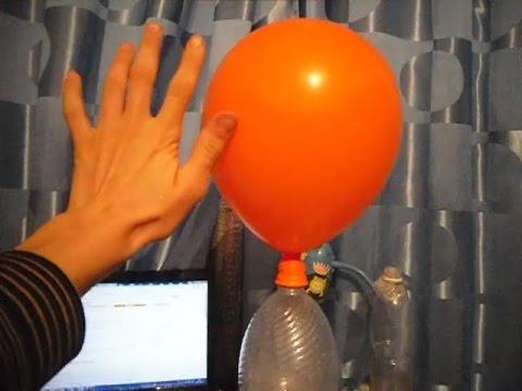 Надуть шарики гелием в домашних условиях с