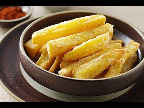金黃香酥  炸地瓜條