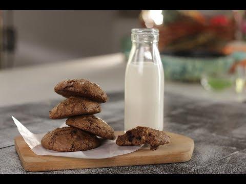 Chocolate Brownie Cookies | Sanjeev Kapoor Khazana