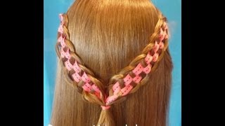 Checkerboard Braid, Princess Hairstyles