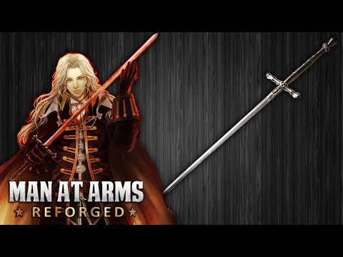 Forging Alucard  s Heirloom Sword from Castlevania in Real