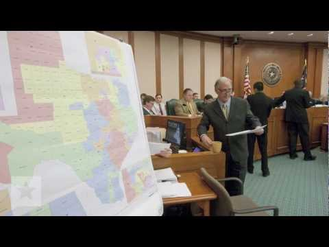 Redistricting Battle in Texas