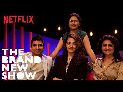 The Brand New Show with Prashasti Singh feat. Sacred Games Cast | Netflix India