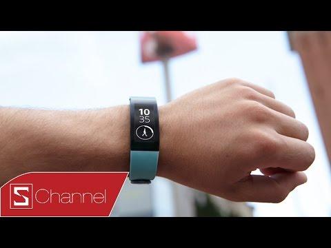 Mở hộp Sony Smartband Talk : Thiết kế mới, màn hình E-ink , pin 3 ngày