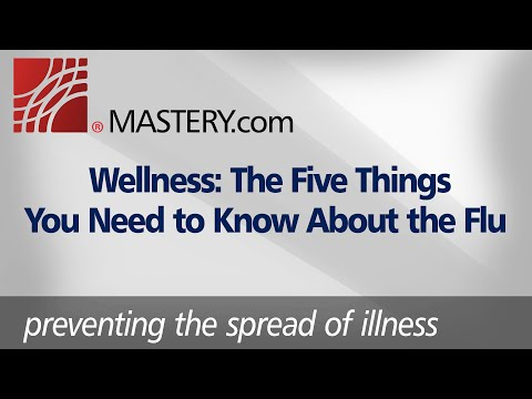 Wellness: The Five Things You Need to Know About the Flu