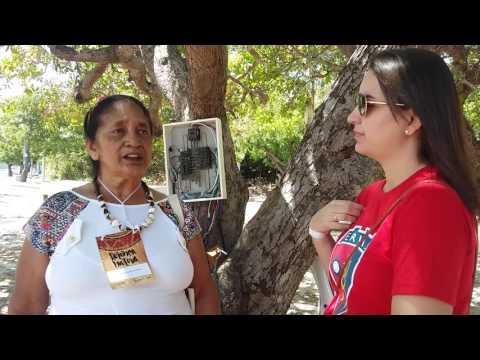 Assistência a saúde na comunidade indigena de Fidélis em Quiterianopolis.
