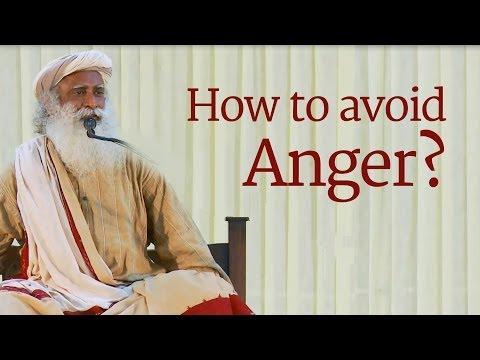 How to Control Anger - Sadhguru