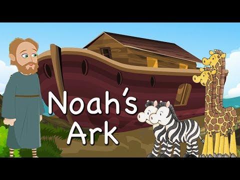 Noah's Ark | Bible Story For Kids -( Children Christian Bible Cartoon Movie ) The Bible's True Story