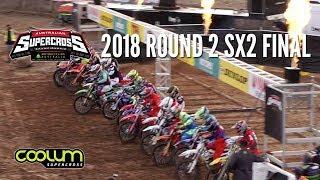 Video 2018 Australian Supercross Championship R2 SX2 Final MP3, 3GP, MP4, WEBM, AVI, FLV Desember 2018