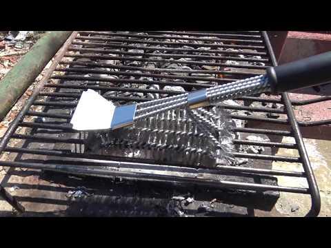 Magicfun Spazzole Barbecue Kit Spazzola e Raschietto