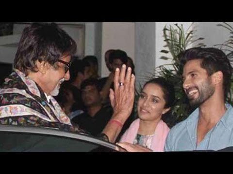 Shraddha Kapoor s guest of honour at Haider screening 02 October 2014 03 PM