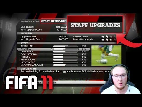 FIFA 11 CAREER MODE IS BETTER THAN FIFA 18?! WTF!!