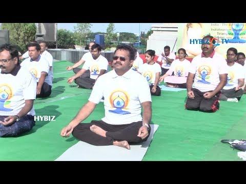 , Telangana Tourism-International Yoga Day 2018