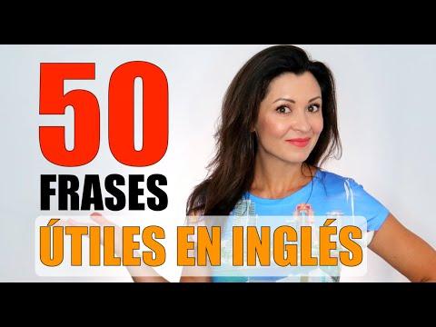 50 FRASES COMUNES EN INGLÉS   Elisa Valkyria