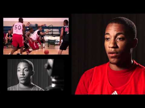 Joe Burton Interview at the 2011 adidas Nations Camp in Houston