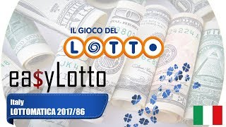 """Latest Italy Lottomatica Results jul 20, Winning Numbers and Prize Breakdown. Enjoy the Vídeo? Subscribe to EasyLotto!"