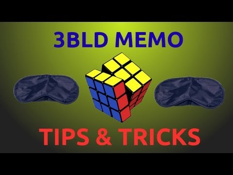 [NoahCubes] Tips and Tricks for 3BLD Memorization
