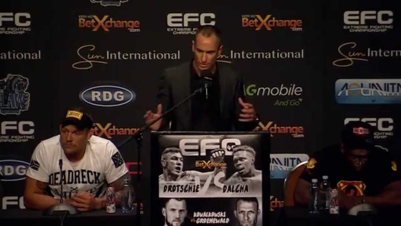 EFC 45: Post Event Press Conference