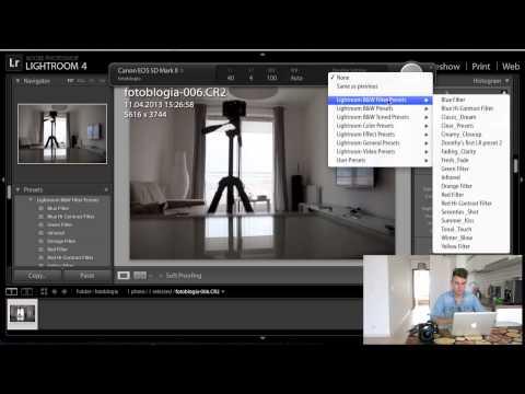 Podłącz aparat do komputera i korzystaj z tetheringu w Lightroomie
